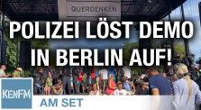 Demonstration Berlin - 1.8.2020. 16:45 Uhr, die Polizei beendet die Veranstaltung by KenFM Kanal